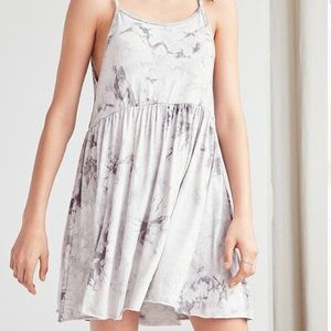 Urban Outfitters Tie-Dyed Babydoll Mini Dress
